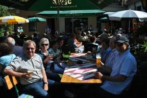 Sommerkulturprogramm am 9.8.2015 mit der Band Letterfrack